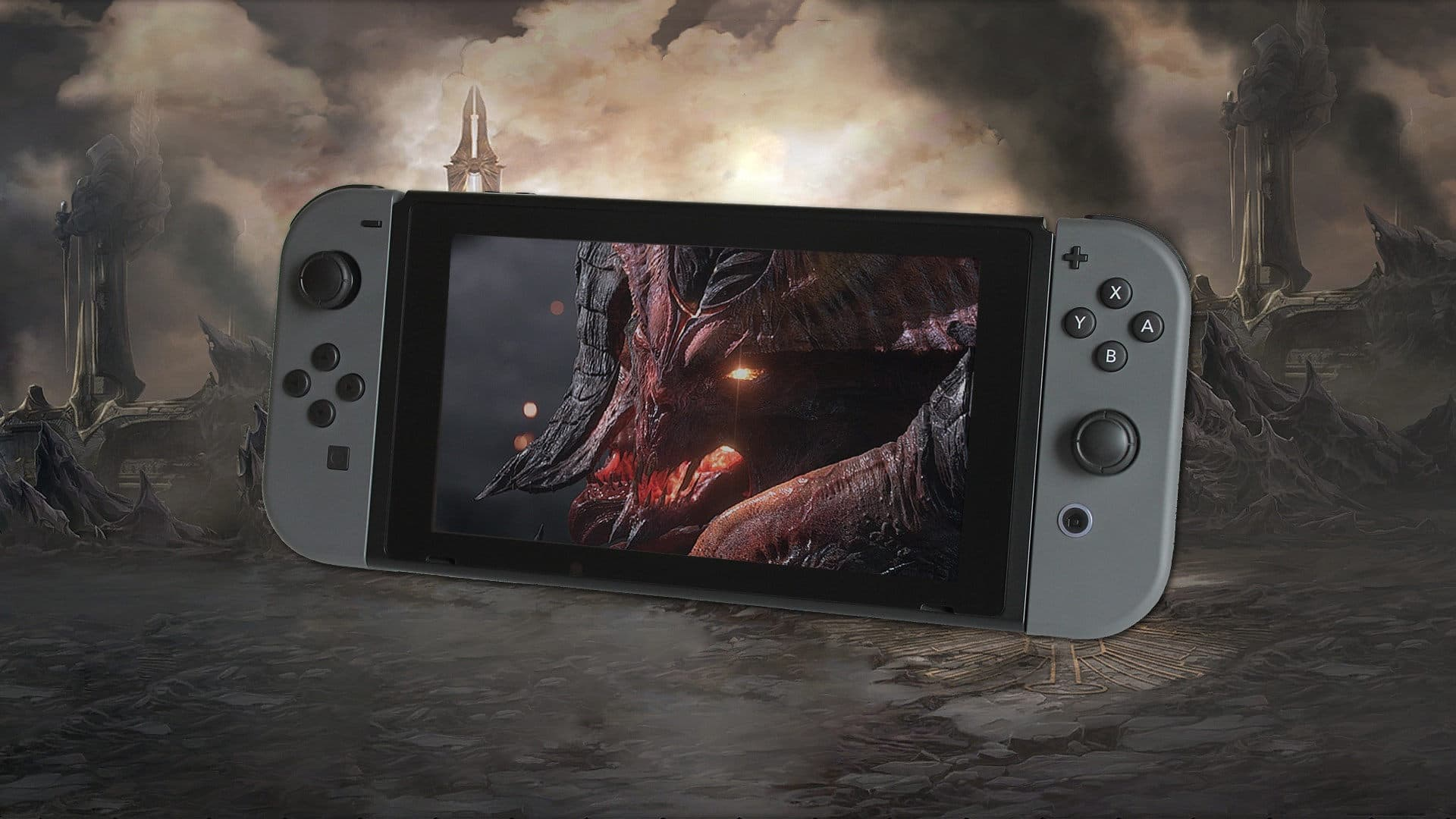 Diablo 3 on Switch Gameplay Video