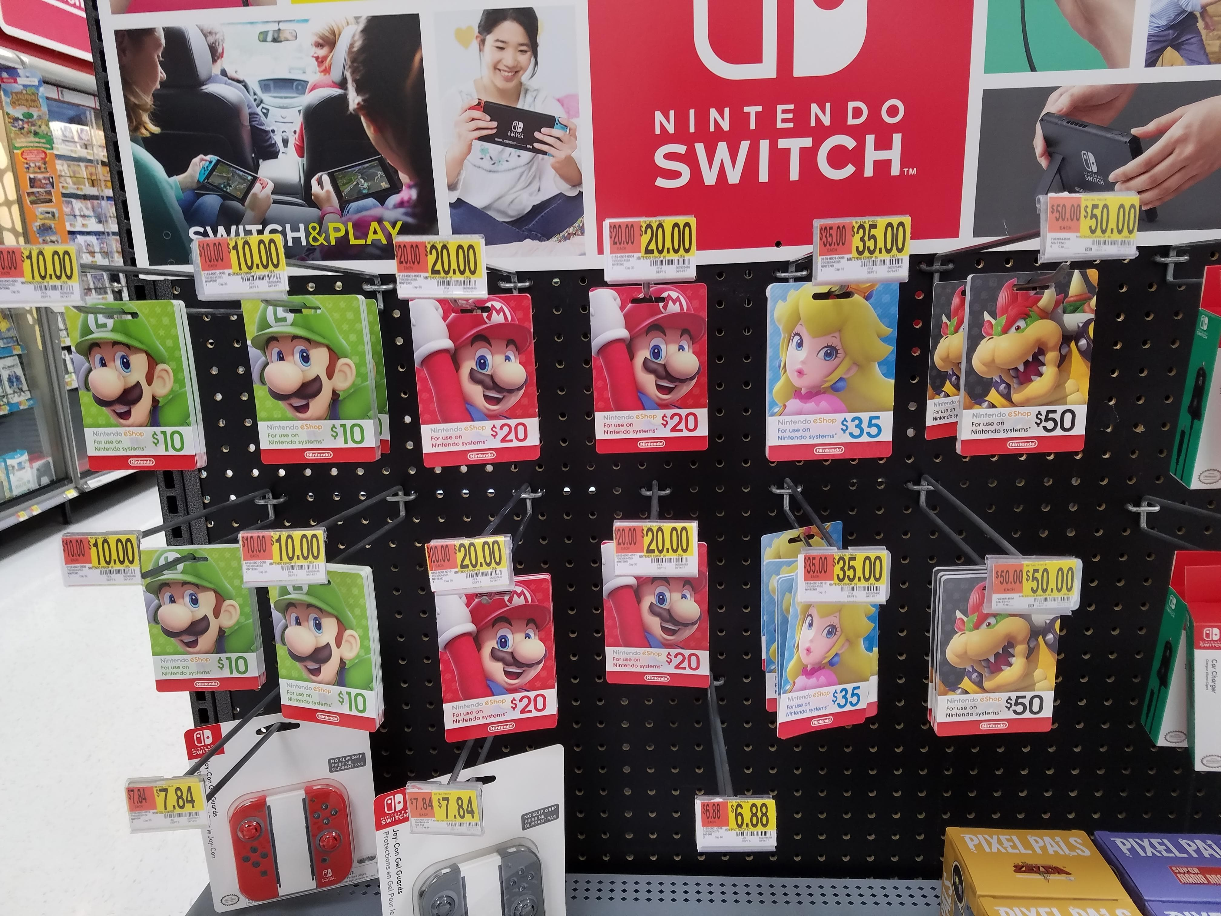 How to save on Nintendo eShop gift cards.