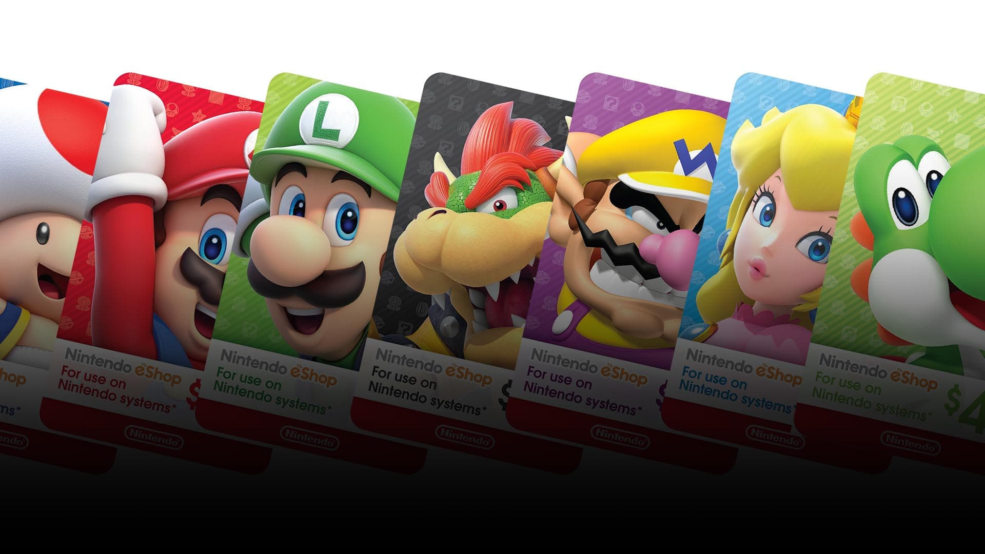 eShop Gift Cards