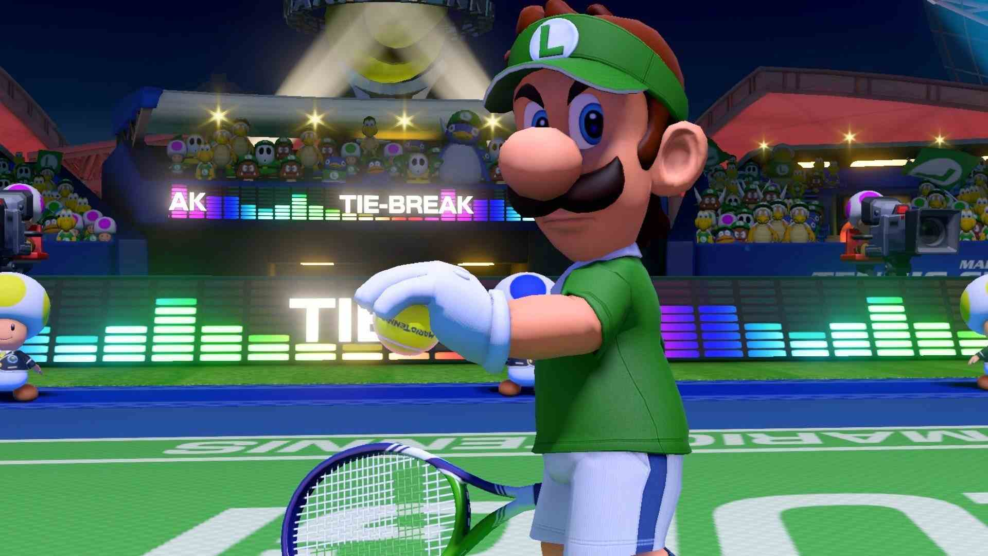 New Characters for Mario Tennis Aces