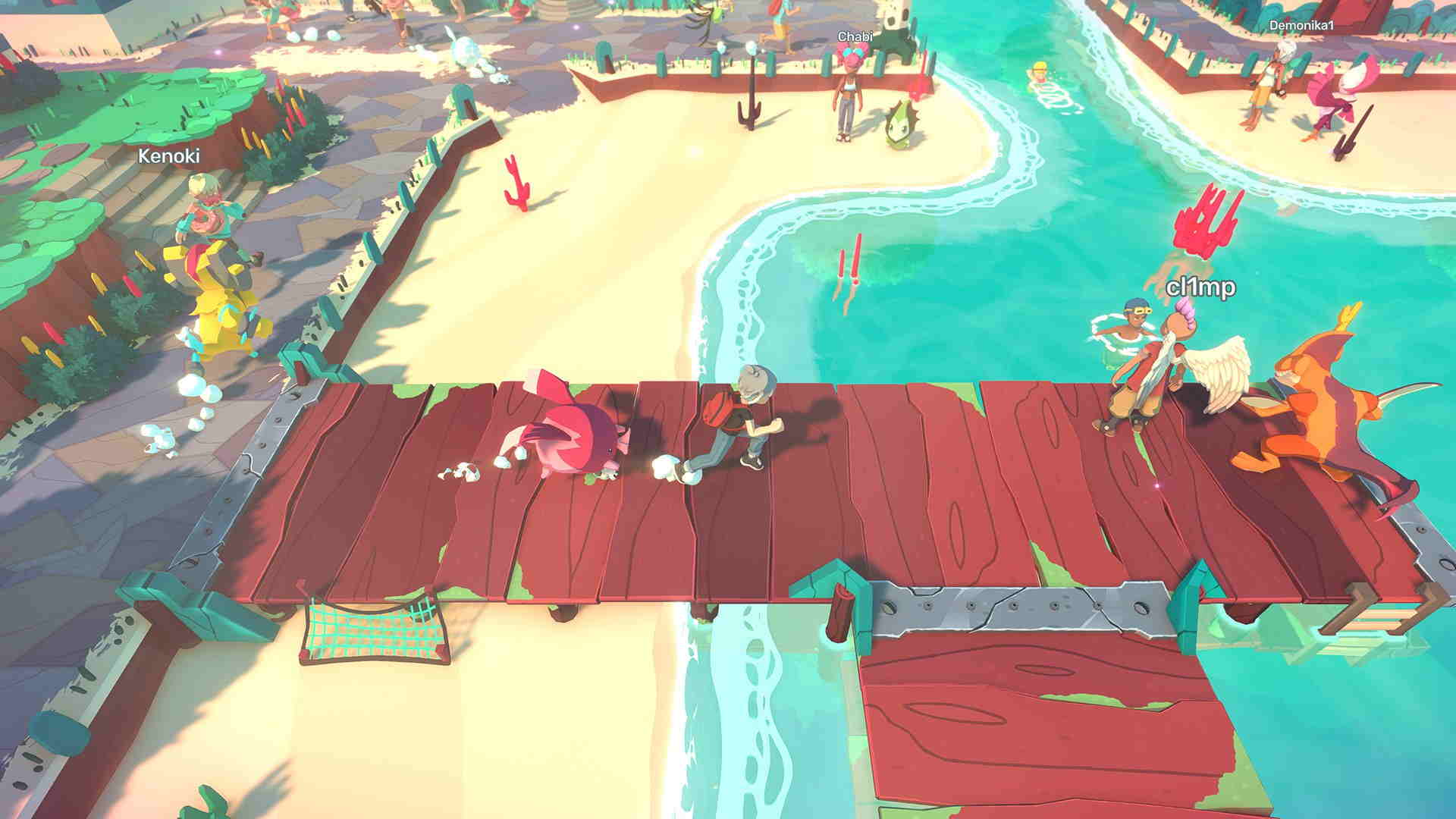 Temtem devs showcase game on Switch