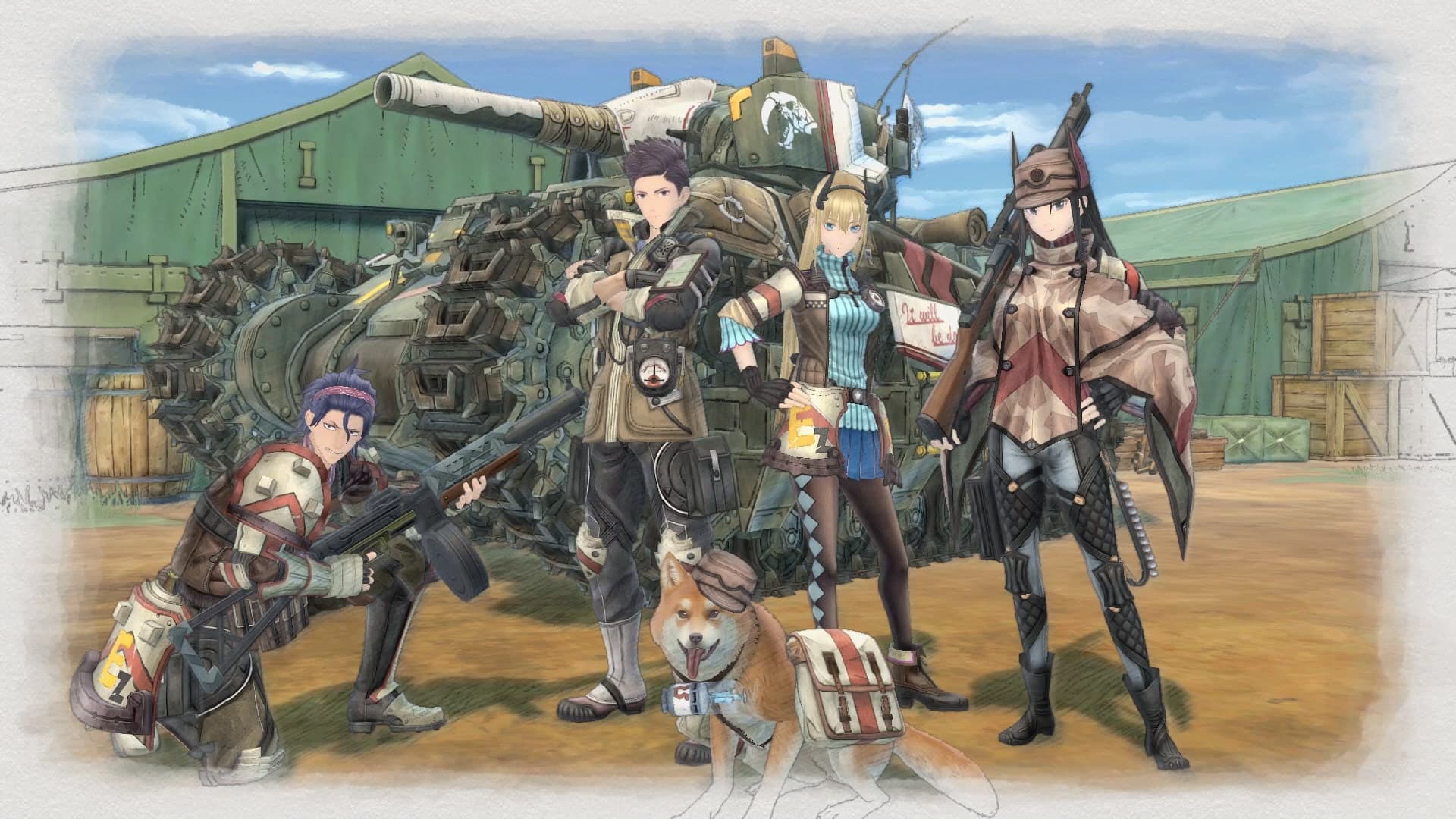 Valkyria Chronicles 4 Features Trailer